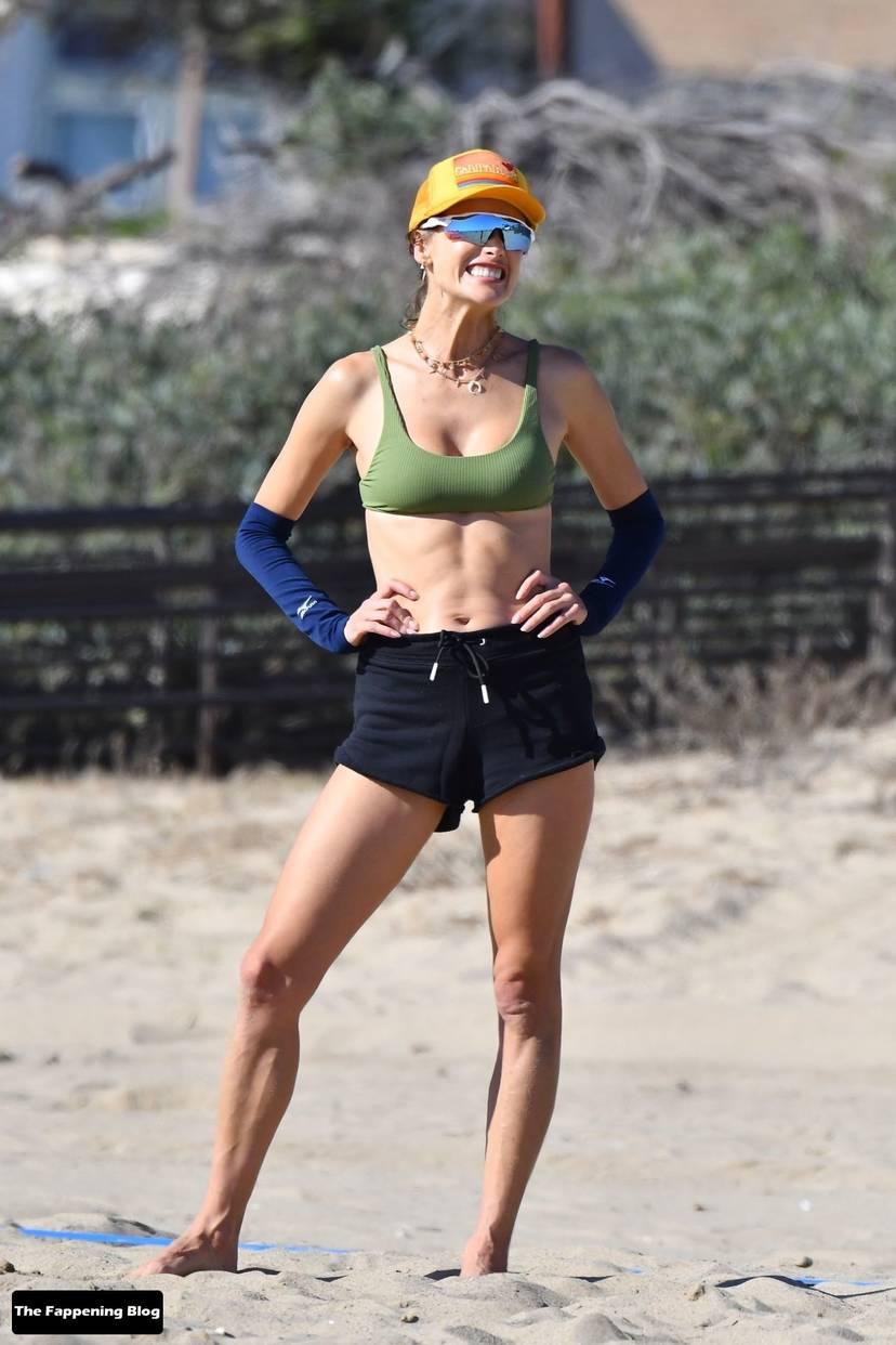 Alessandra Ambrosio on Beach 4