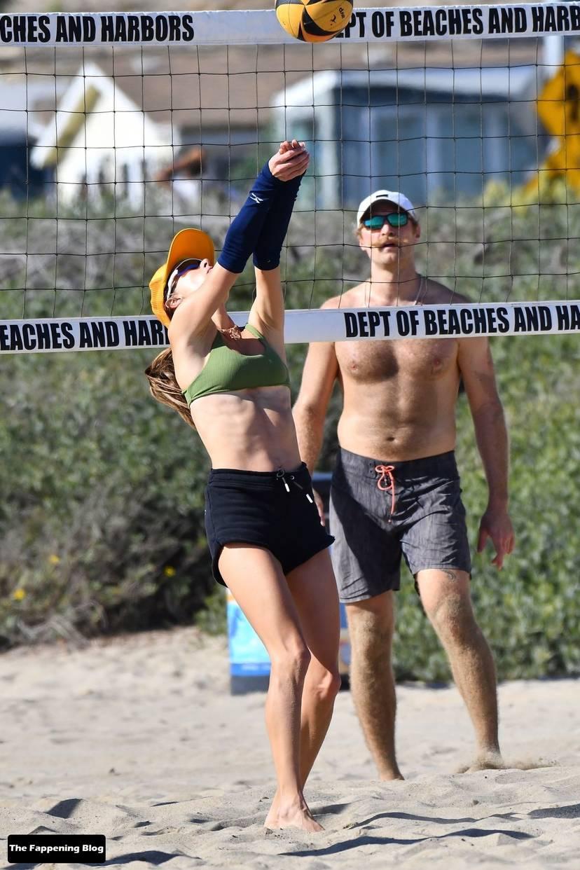 Alessandra Ambrosio on Beach 44