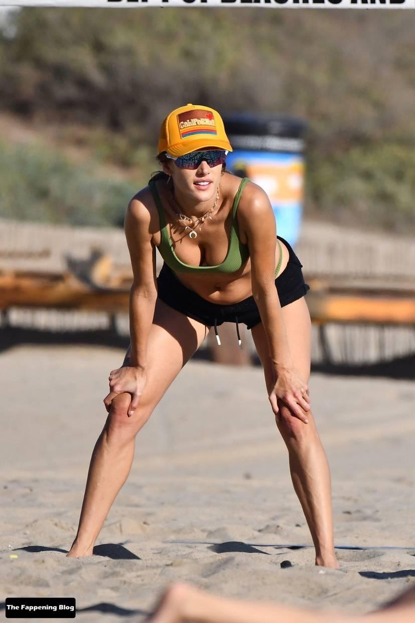 Alessandra Ambrosio on Beach 62