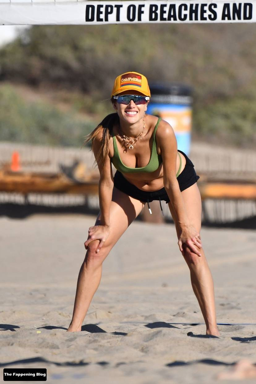 Alessandra Ambrosio on Beach 66