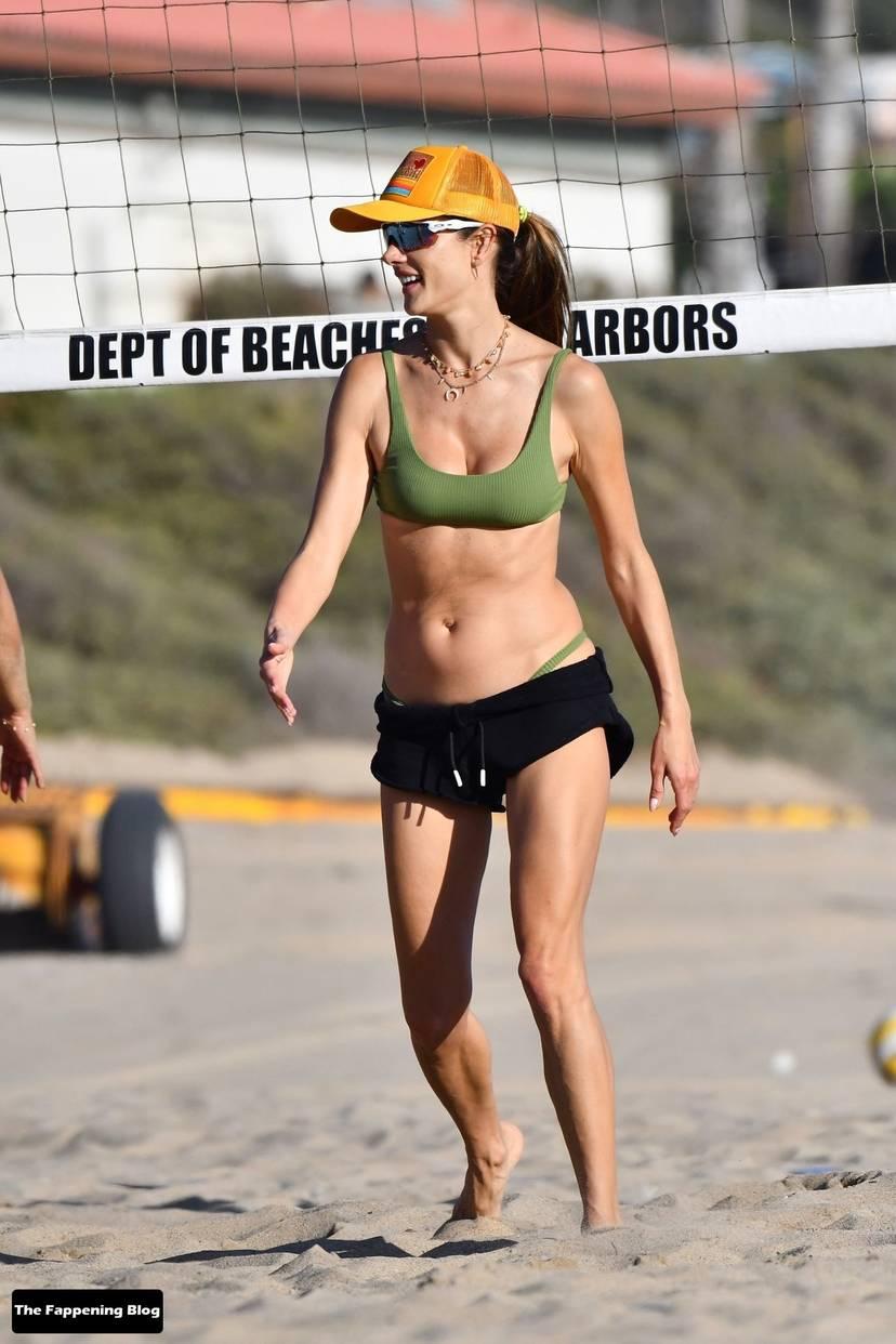 Alessandra Ambrosio on Beach 71