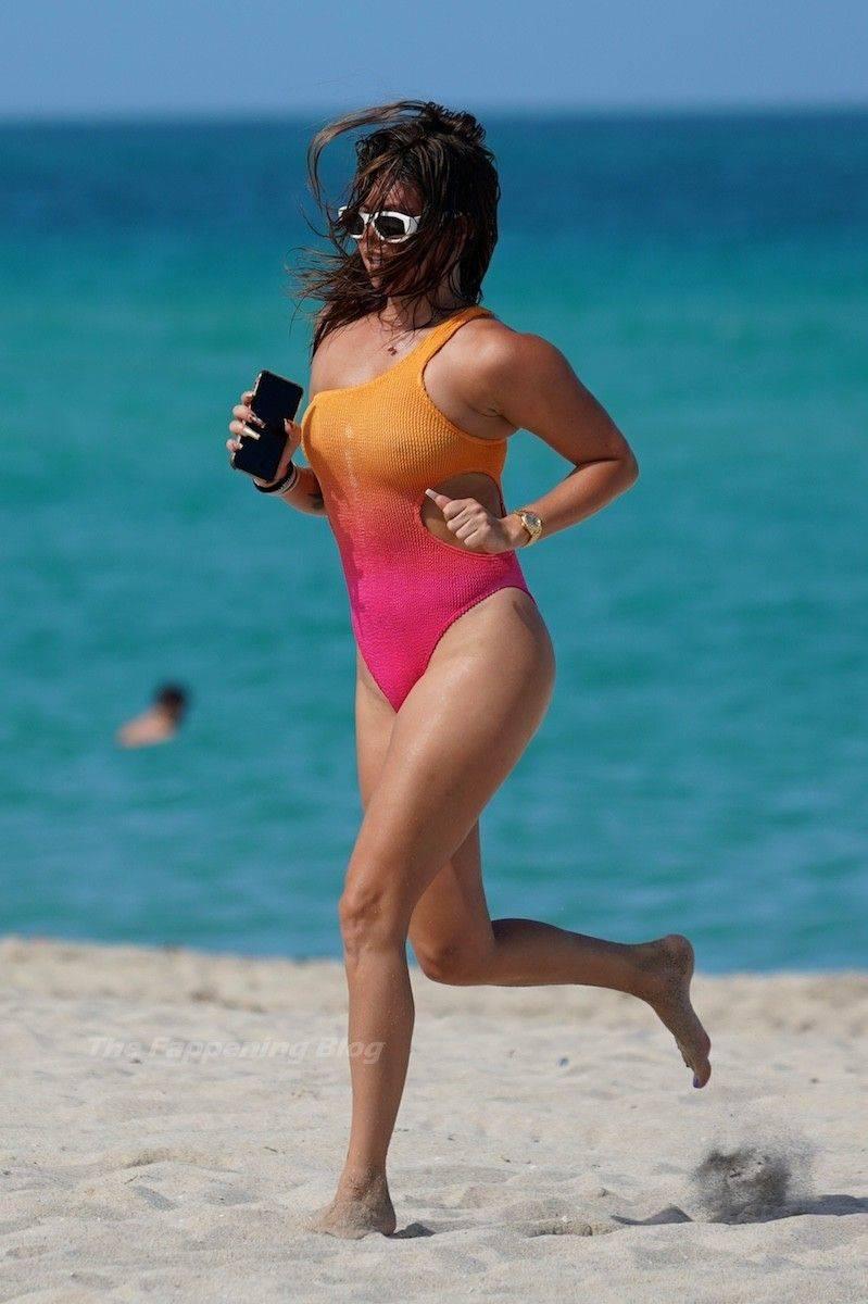 Chanel West Coast Swimsuit 7
