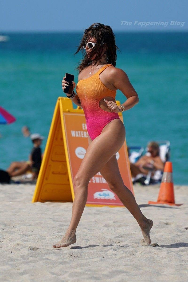 Chanel West Coast Swimsuit 9