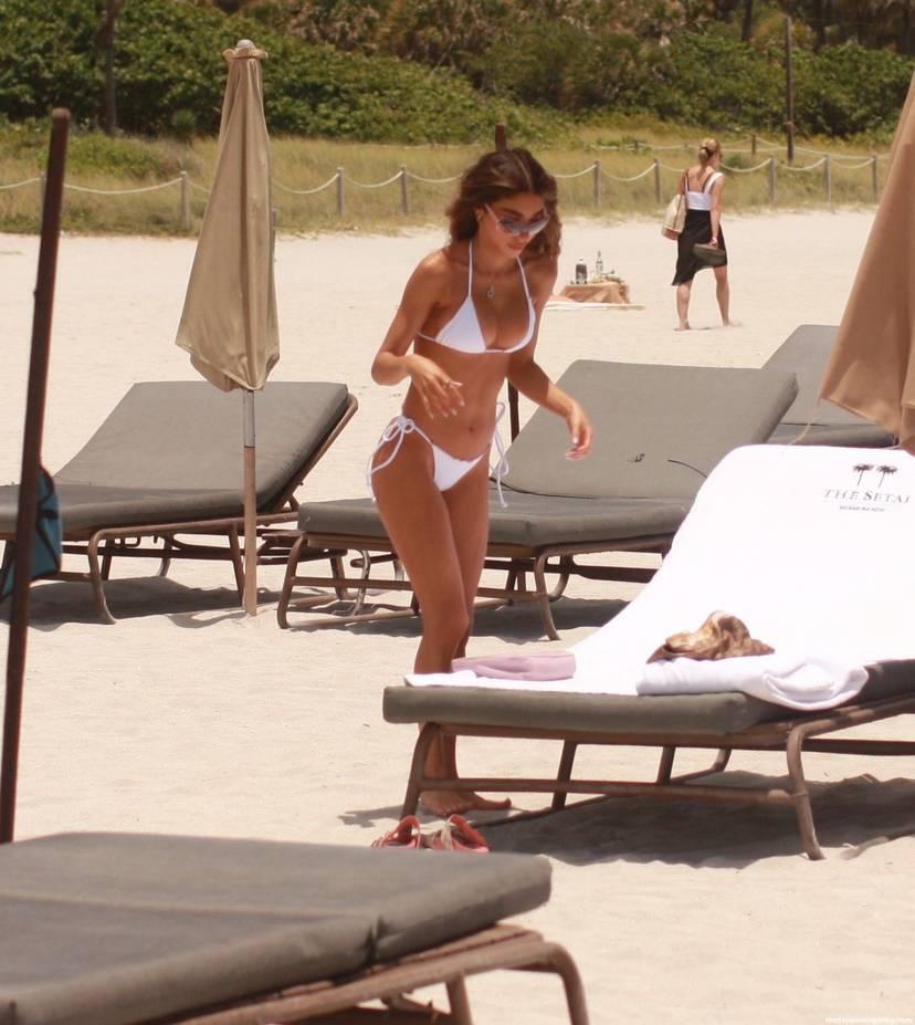 Chantel Jeffries on Beach 14