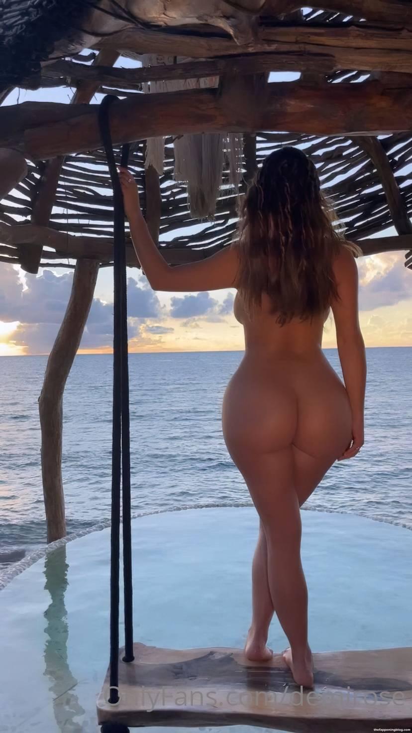 Demi Rose Nude Butt 1