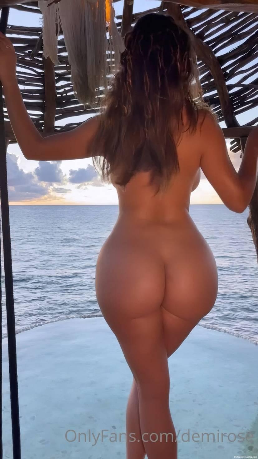 Demi Rose Nude Butt 3