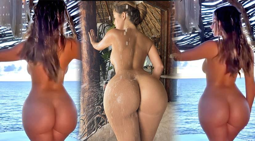 Demi Rose Nude Butt 4