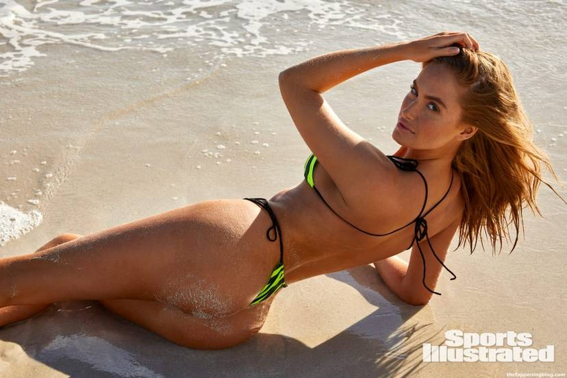 Haley Kalil Sexy Swimsuit 7