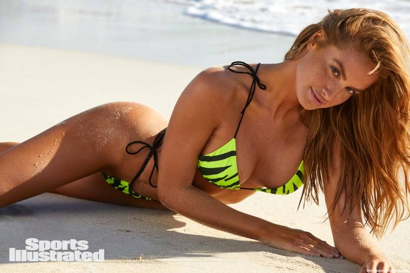 Haley Kalil Sexy Swimsuit 8