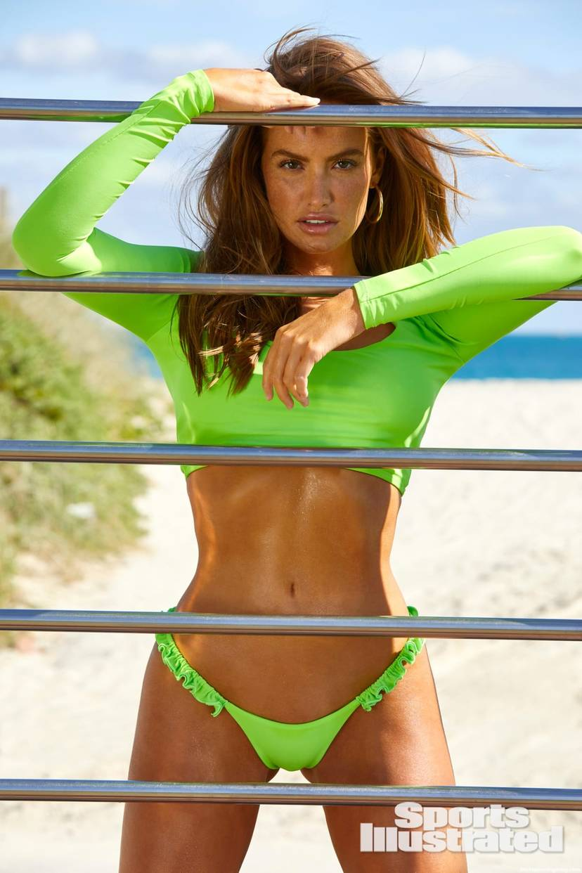 Haley Kalil Sexy Swimsuit 25