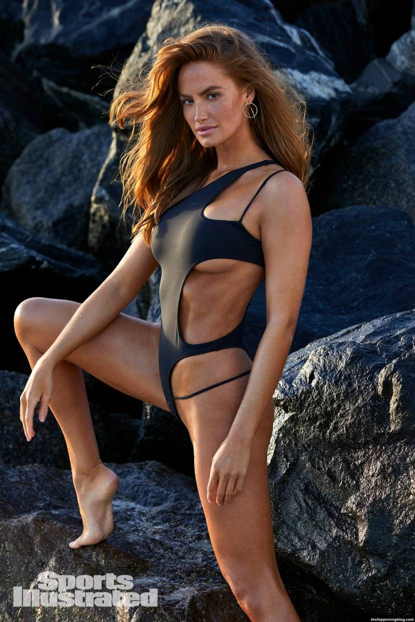 Haley Kalil Sexy Swimsuit 47