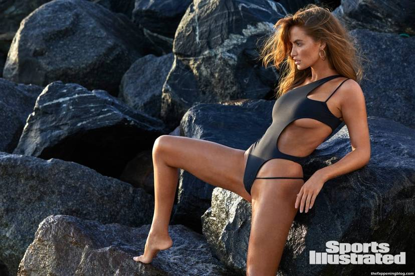 Haley Kalil Sexy Swimsuit 48
