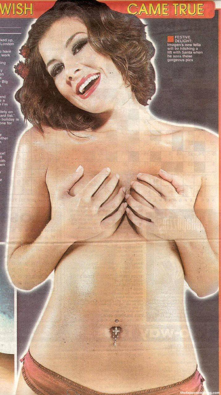 Imogen Thomas Nude Sexy Leaked 10