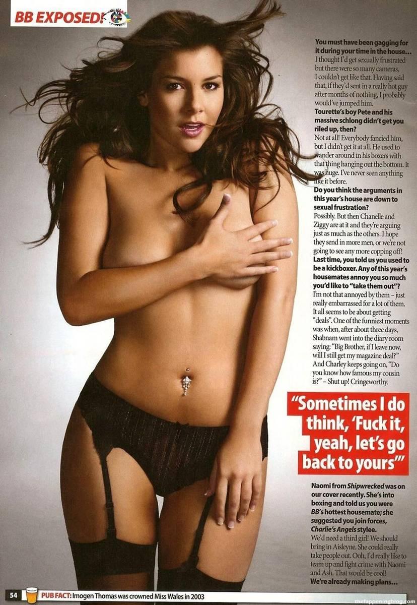 Imogen Thomas Nude Sexy Leaked 15