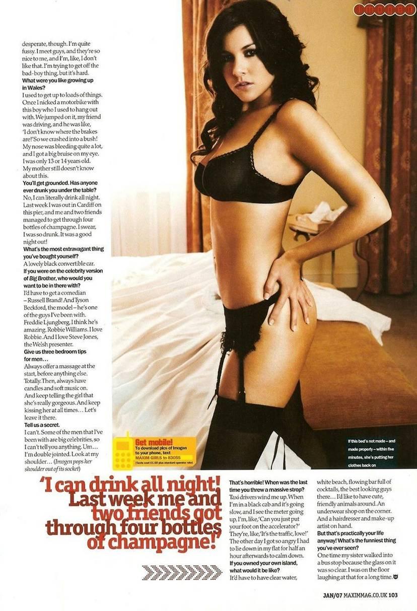 Imogen Thomas Nude Sexy Leaked 16