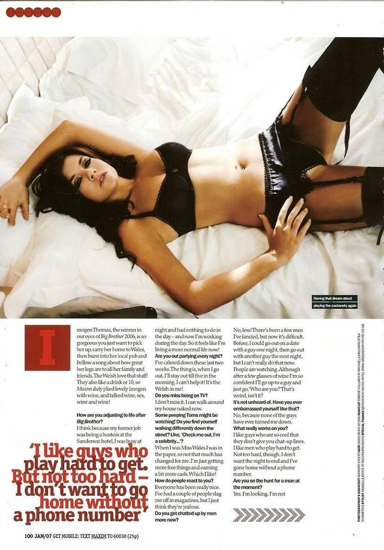 Imogen Thomas Nude Sexy Leaked 22