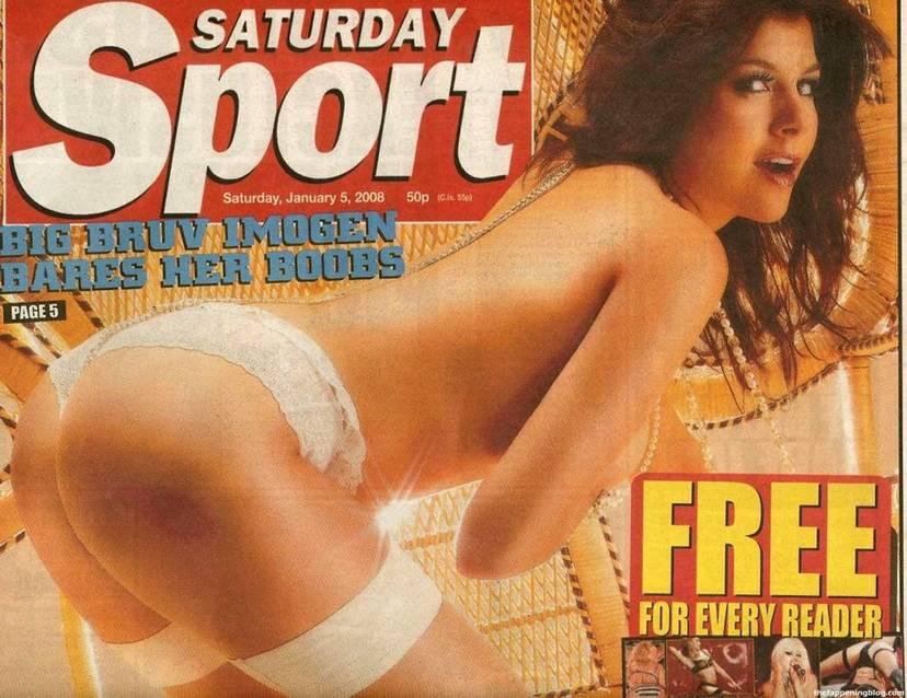 Imogen Thomas Nude Sexy Leaked 30