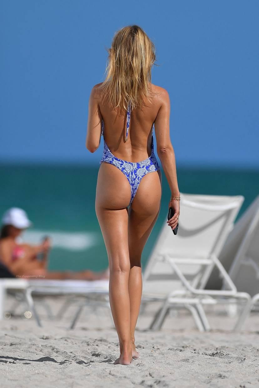 Kimberley Garner on Beach Swimsuit 10