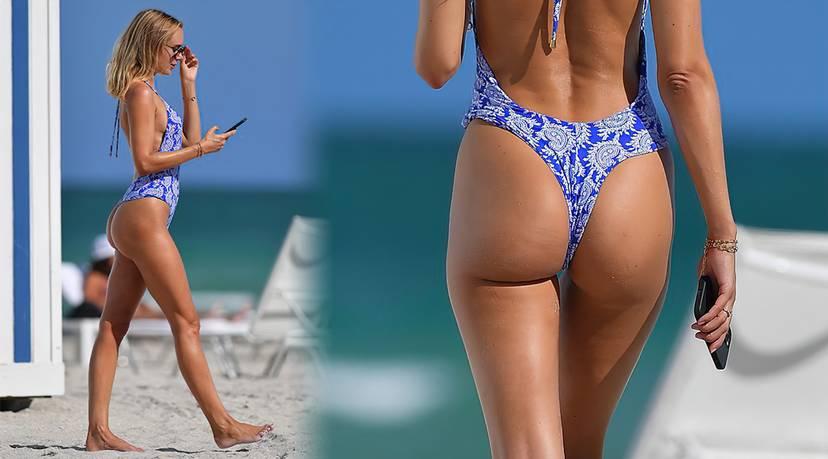Kimberley Garner on Beach Swimsuit 24