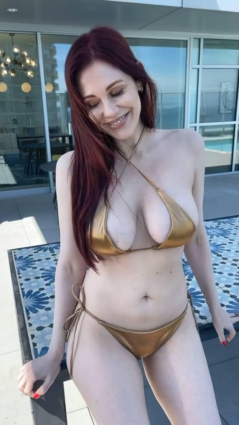 Maitland Ward Bikini Tits 11