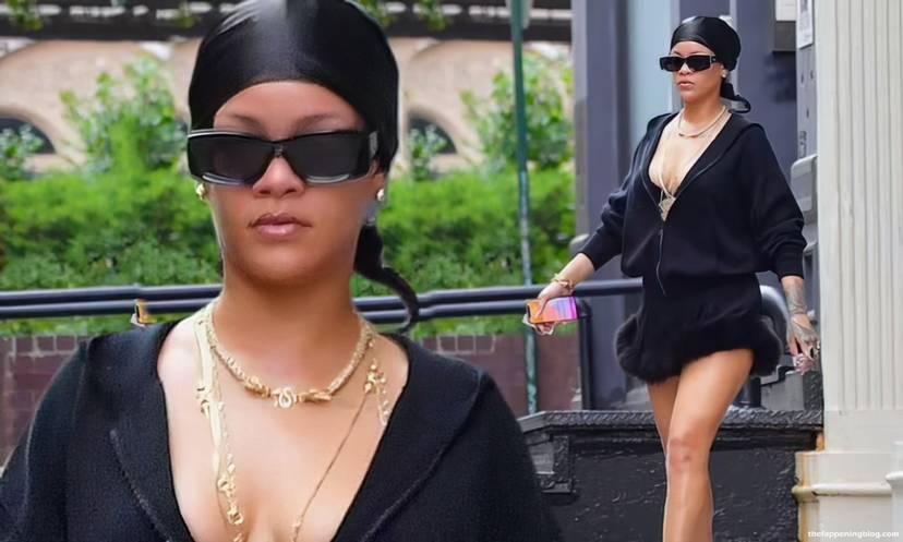 Rihanna Sexy Slip Dress 9